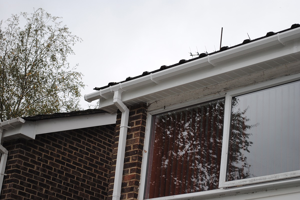 Fascias Soffits Guttering replacement surrey epsom