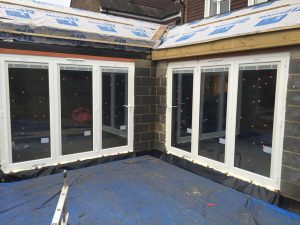 double glazed bifold doors epsom surrey