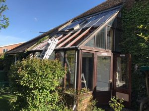 conservatory repairs epsom surrey