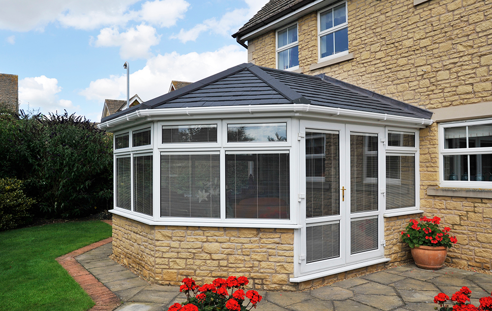 Eurocell tiled conservatory roofs epsom surrey