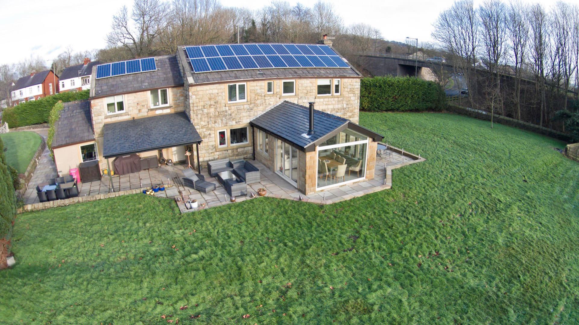 Ultraframe tiled conservatory roof epsom surrey